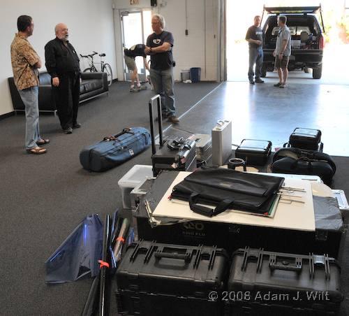 RED on location: Art Adams shoots a spec spot 70