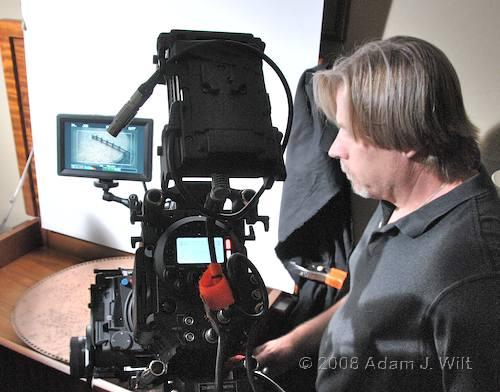 RED on location: Art Adams shoots a spec spot 72
