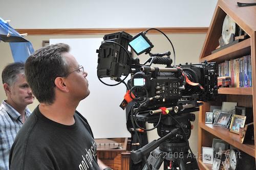 RED on location: Art Adams shoots a spec spot 75