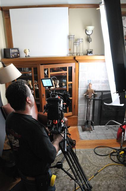 RED on location: Art Adams shoots a spec spot 79