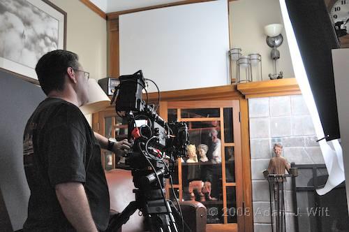 RED on location: Art Adams shoots a spec spot 80