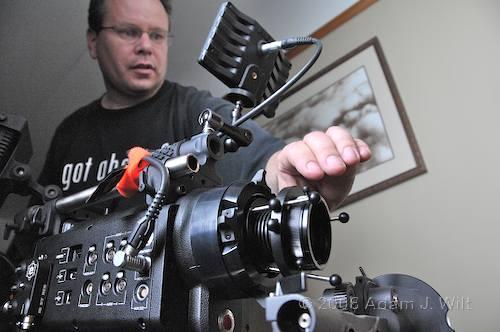 RED on location: Art Adams shoots a spec spot 83