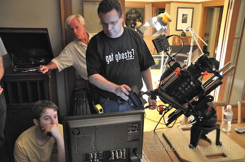 RED on location: Art Adams shoots a spec spot 85