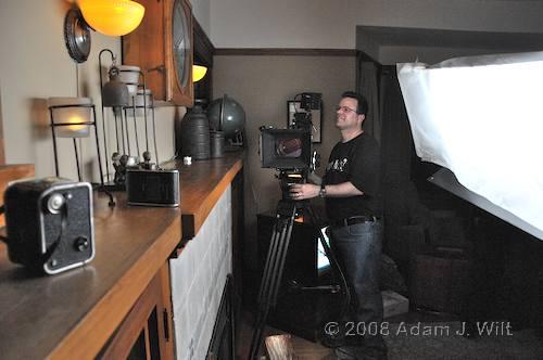 RED on location: Art Adams shoots a spec spot 86