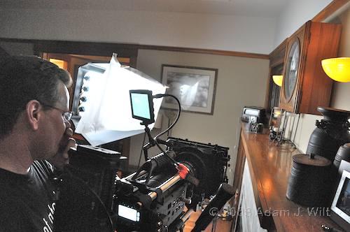 RED on location: Art Adams shoots a spec spot 87