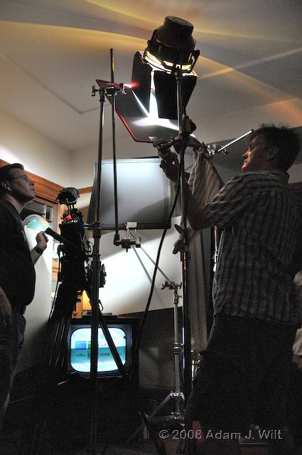 RED on location: Art Adams shoots a spec spot 91