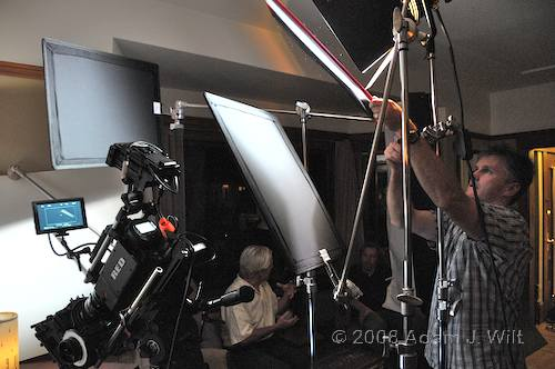 RED on location: Art Adams shoots a spec spot 92