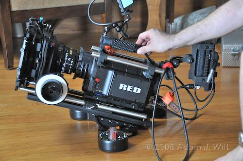 RED on location: Art Adams shoots a spec spot 97