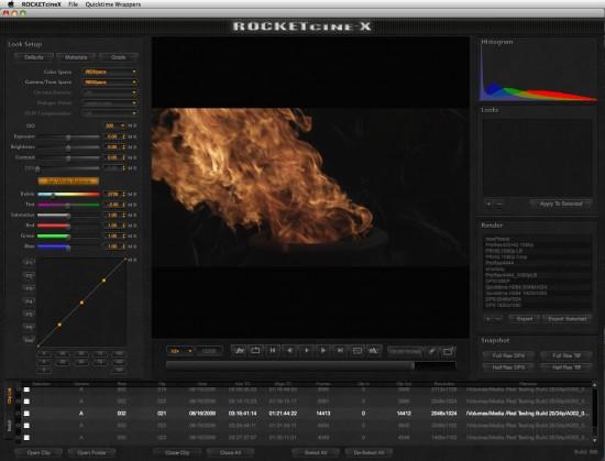 Video Tour of  Rocketcine-X build 566 3