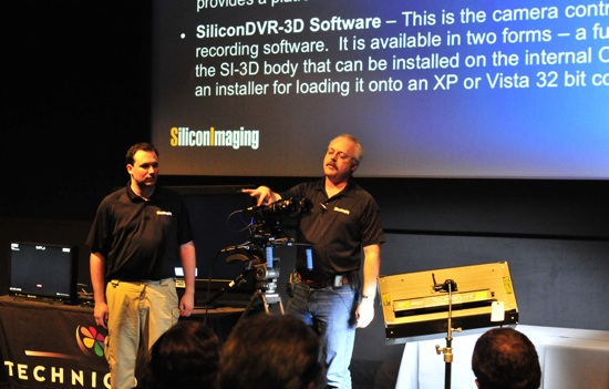 Band Pro 3D - Silicon Imaging's Impressive use of SI-2K for Stereoscopic (3D) cinematography 3