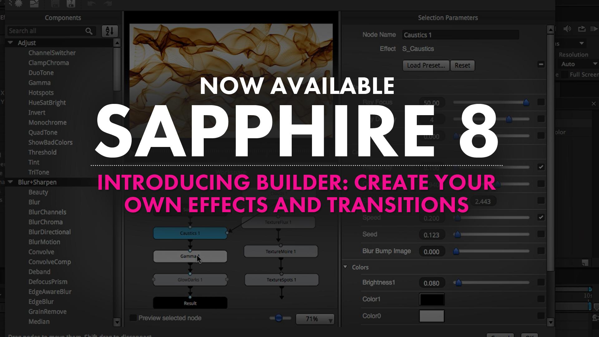 GenArts, Inc. Announces the Release of Sapphire 8 3
