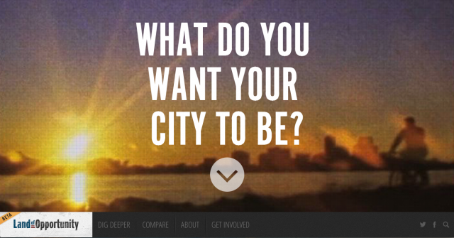 LandofOpportunity – Experimental Web Platform Explores Post-Crisis Community (Re)Building 1