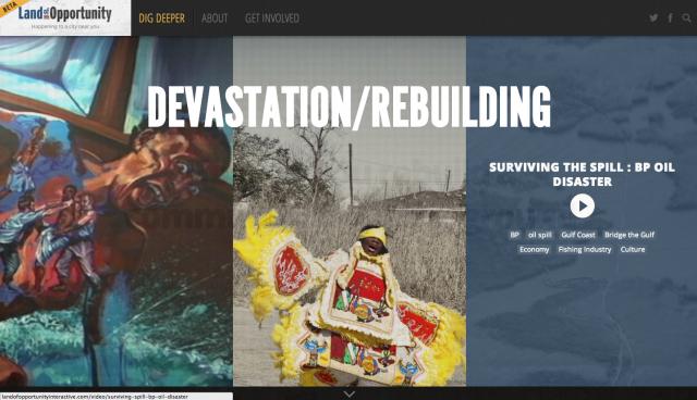 LandofOpportunity – Experimental Web Platform Explores Post-Crisis Community (Re)Building 2