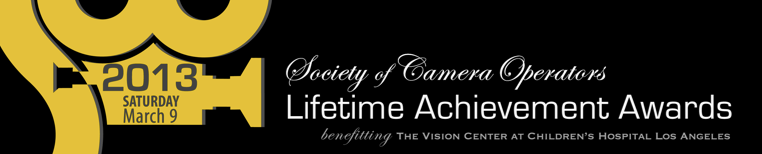 Society of Camera Operators – Lifetime Achievement Awards 2013 3