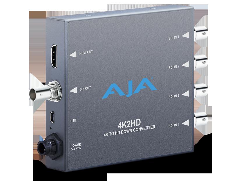AJA Releases New Mini-Converters at 2013 IBC 4
