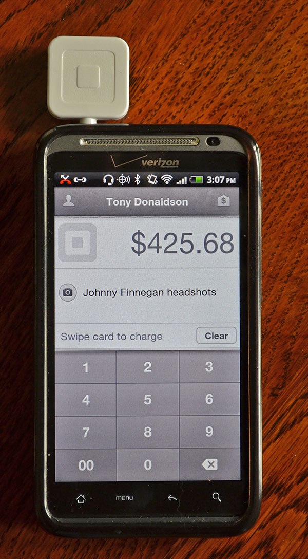 Free SquareUp.com credit card reader makes taking payments easy