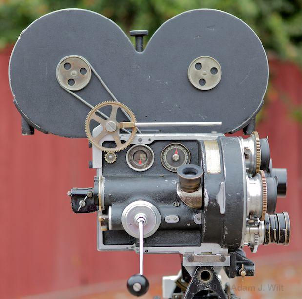 """Photos: the Bell & Howell 2709 and """"The Canyon"""" 117"""
