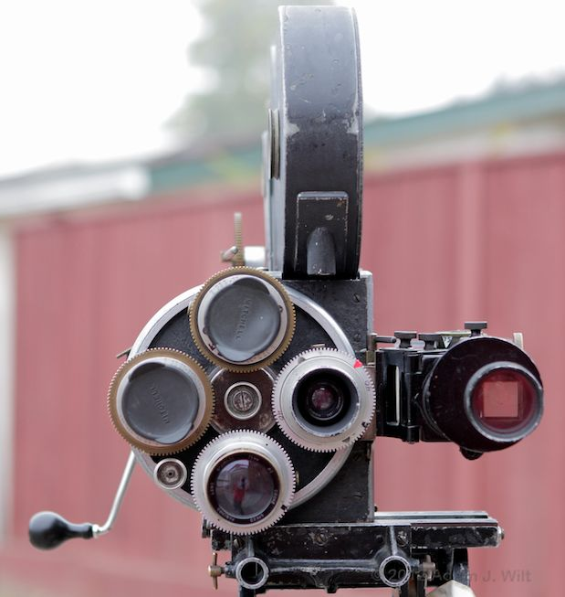 Photos: the Bell & Howell 2709 and