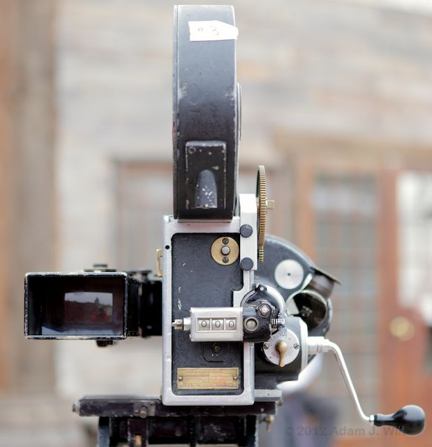 """Photos: the Bell & Howell 2709 and """"The Canyon"""" 115"""