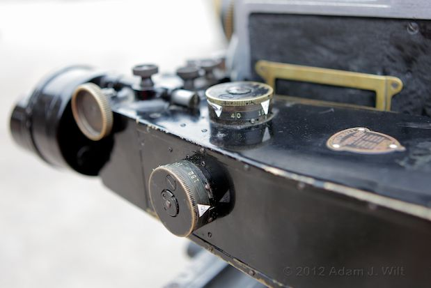 "Photos: the Bell & Howell 2709 and ""The Canyon"" 126"