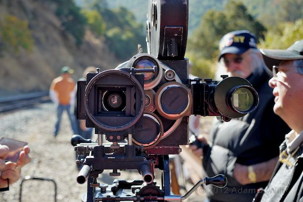 """Photos: the Bell & Howell 2709 and """"The Canyon"""" 123"""
