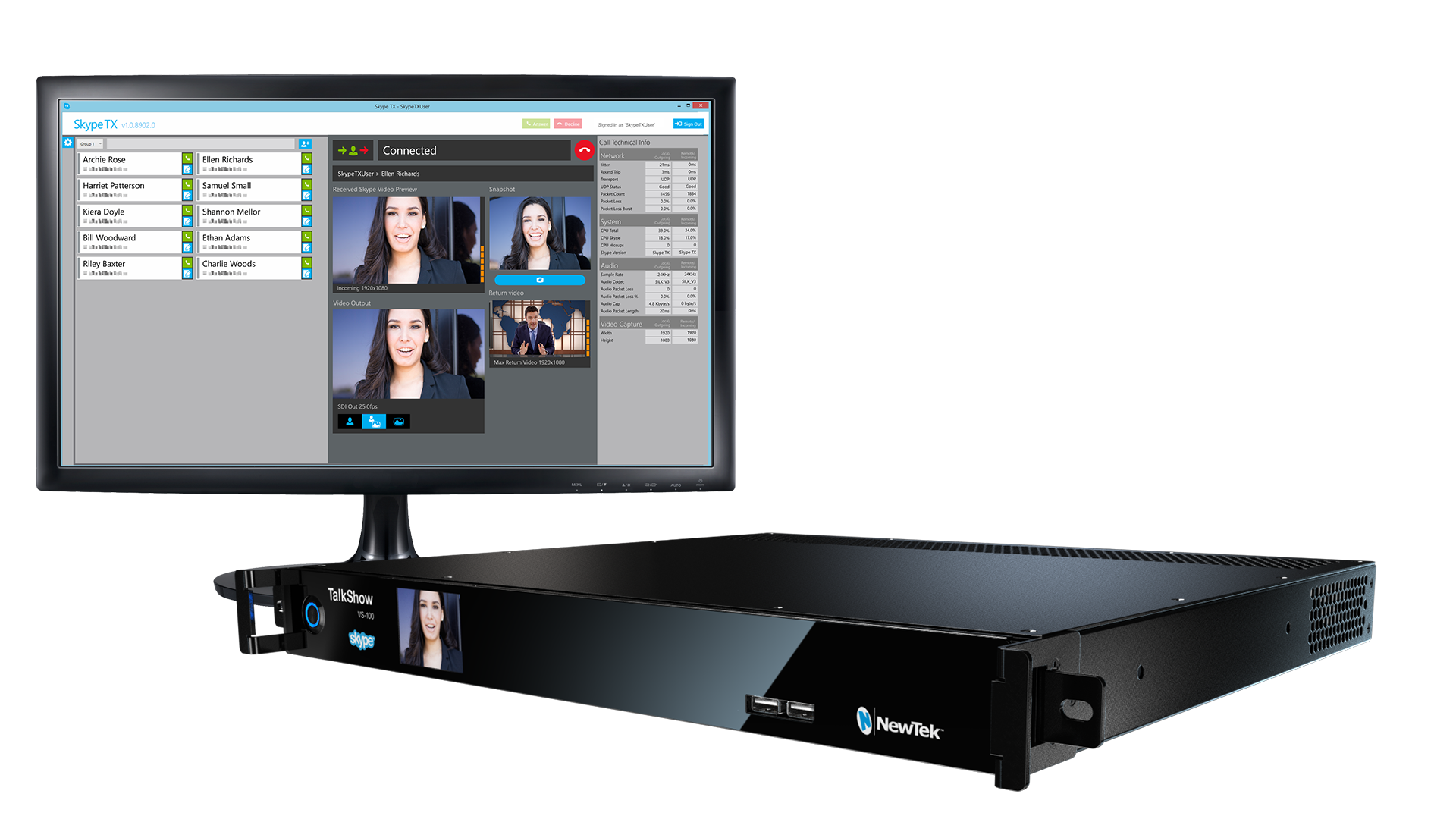 NewTek Now Shipping TalkShow 4