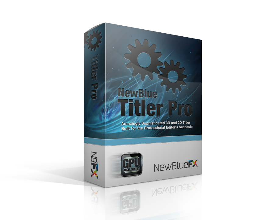 Avid Media Composer 7.0 advances titling with NewBlue Titler Pro 4