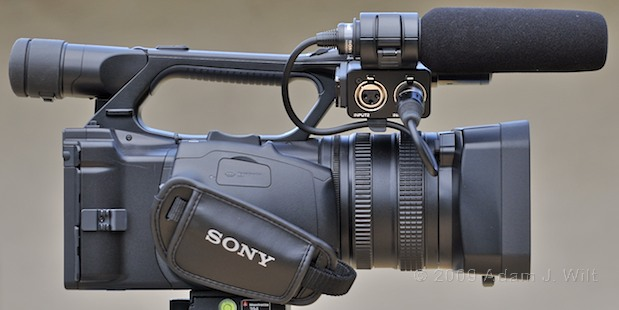 "Review: Sony HVR-Z5U 1/3"" 3-CMOS HDV Camcorder 39"