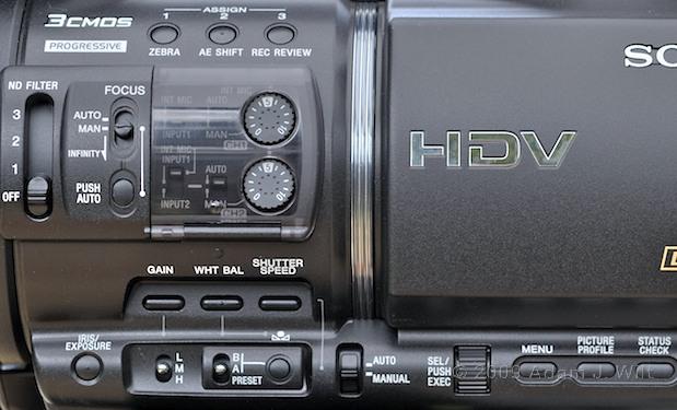 "Review: Sony HVR-Z5U 1/3"" 3-CMOS HDV Camcorder 34"