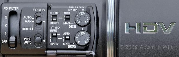 "Review: Sony HVR-Z5U 1/3"" 3-CMOS HDV Camcorder 35"