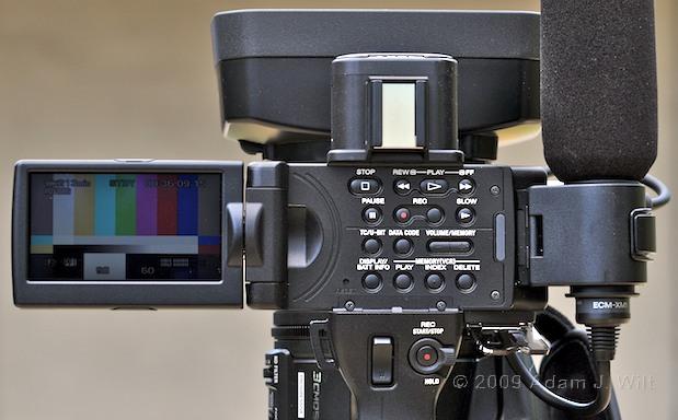 "Review: Sony HVR-Z5U 1/3"" 3-CMOS HDV Camcorder 40"