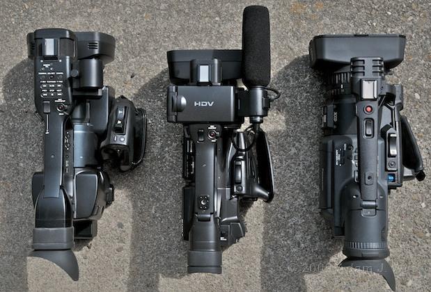 "Review: Sony HVR-Z5U 1/3"" 3-CMOS HDV Camcorder 32"