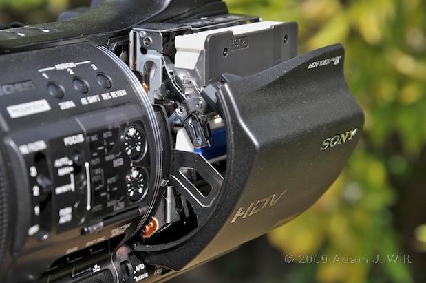 "Review: Sony HVR-Z5U 1/3"" 3-CMOS HDV Camcorder 37"