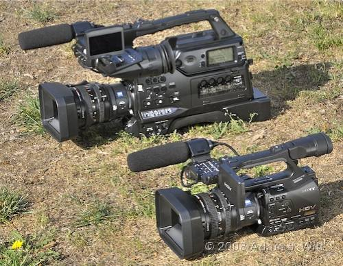 """Review: Sony HVR-Z7 & HVR-S270 1/3"""" 3-CMOS HDV camcorders 50"""