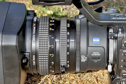 """Review: Sony HVR-Z7 & HVR-S270 1/3"""" 3-CMOS HDV camcorders 52"""