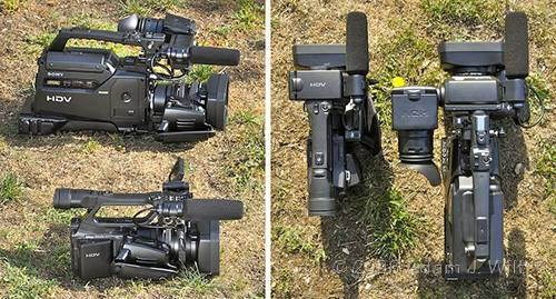 """Review: Sony HVR-Z7 & HVR-S270 1/3"""" 3-CMOS HDV camcorders 51"""