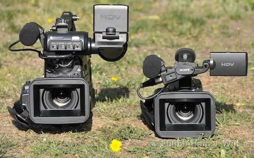 """Review: Sony HVR-Z7 & HVR-S270 1/3"""" 3-CMOS HDV camcorders 49"""