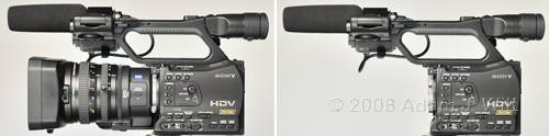"""Review: Sony HVR-Z7 & HVR-S270 1/3"""" 3-CMOS HDV camcorders 55"""