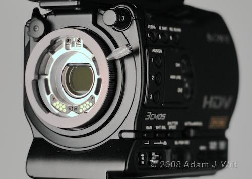 """Review: Sony HVR-Z7 & HVR-S270 1/3"""" 3-CMOS HDV camcorders 53"""