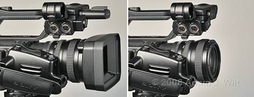 """Review: Sony HVR-Z7 & HVR-S270 1/3"""" 3-CMOS HDV camcorders 61"""