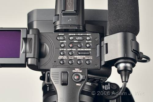 """Review: Sony HVR-Z7 & HVR-S270 1/3"""" 3-CMOS HDV camcorders 58"""
