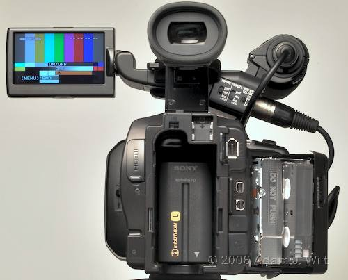 """Review: Sony HVR-Z7 & HVR-S270 1/3"""" 3-CMOS HDV camcorders 59"""