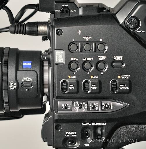 """Review: Sony HVR-Z7 & HVR-S270 1/3"""" 3-CMOS HDV camcorders 62"""