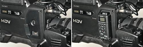 """Review: Sony HVR-Z7 & HVR-S270 1/3"""" 3-CMOS HDV camcorders 68"""