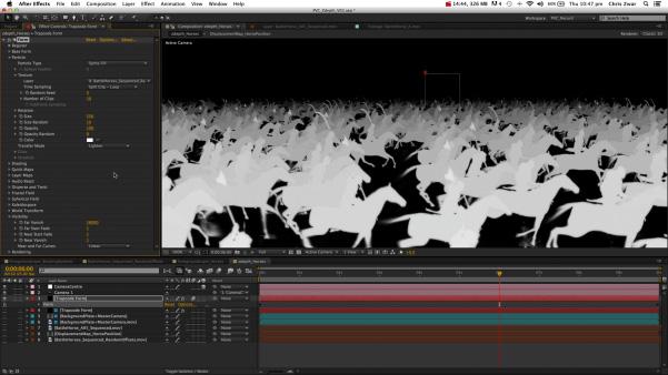 Z-Depth from 3D After Effects layers by Chris Zwar
