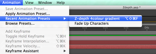 Z-Depth from 3D After Effects layers 20
