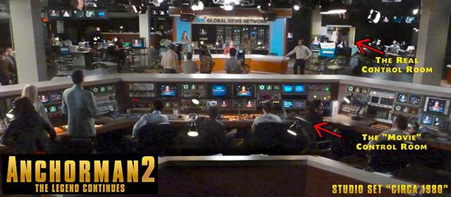"Setting the stage for ""Anchorman 2: The Legend Continues"" 17"