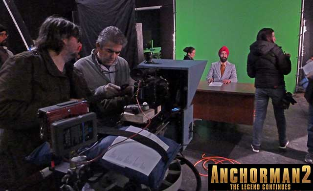 "Setting the stage for ""Anchorman 2: The Legend Continues"" 15"