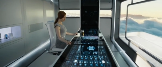 "Joseph Kosinski's film ""Oblivion"" showcases elegant effects created with Adobe After Effects 8"