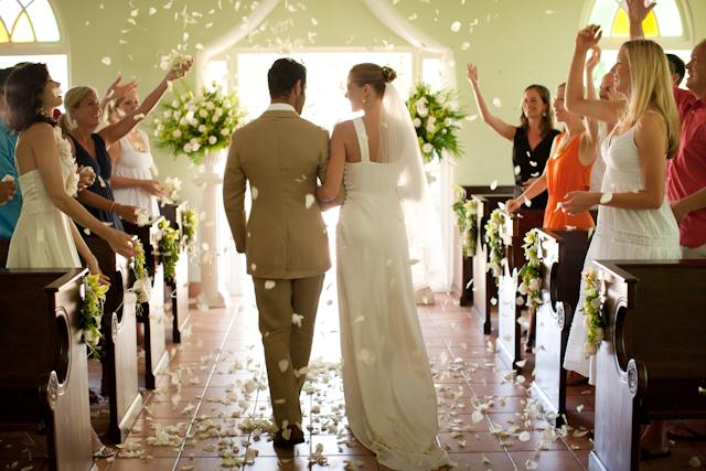 Sandals wedding shoot